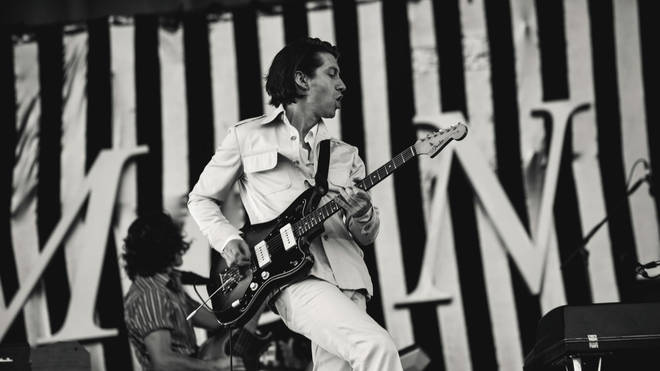 Arctic Monkeys' Alex Turner at TRNSMT 2018