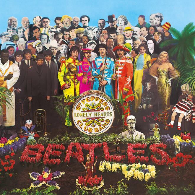 The Beatles - Sgt Pepper's Lonely Hearts Club Band album cover