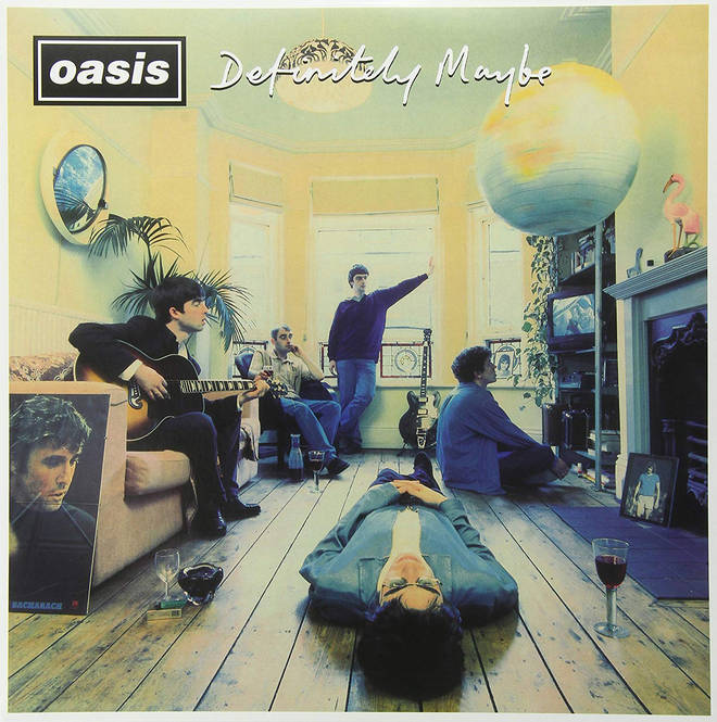 Oasis - Definitely Maybe album cover
