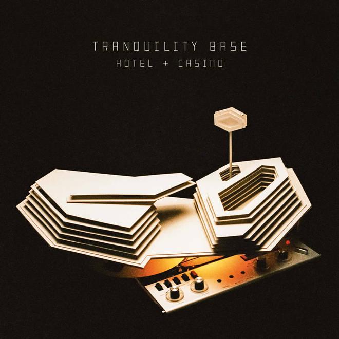 Arctic Monkeys -Tranquility Base Hotel & Casino album cover