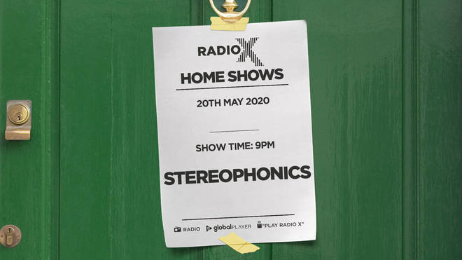 Listen to Stereophonics in Radio X's Home Shows