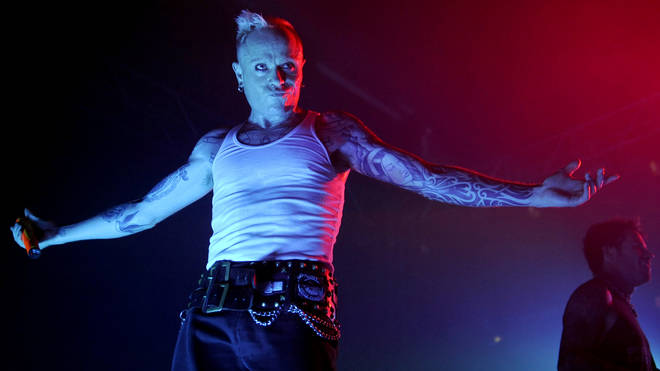 Keith Flint performing live in Berlin in March 2009