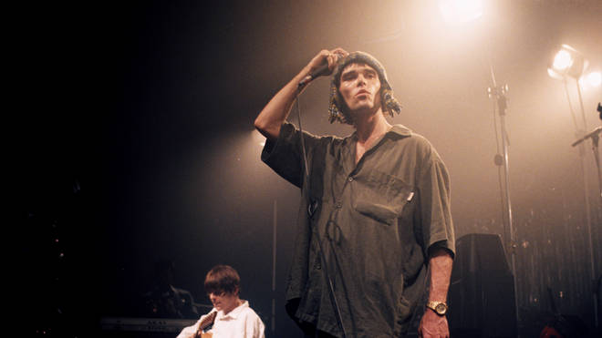 The Stone Roses performing live in 1995