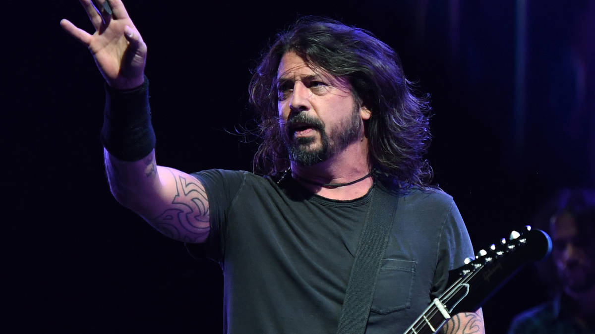 Dave Grohl reveals the album getting him through lockdown