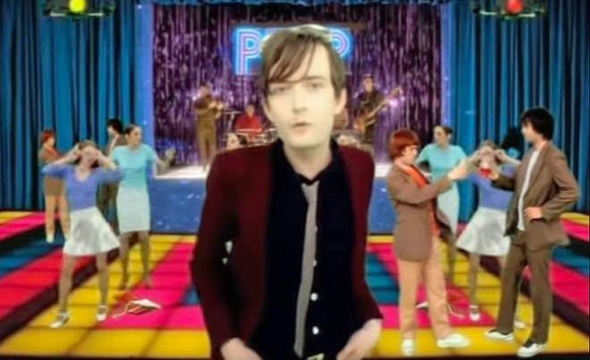 Pulp's Jarvis Cocker in their Common people video