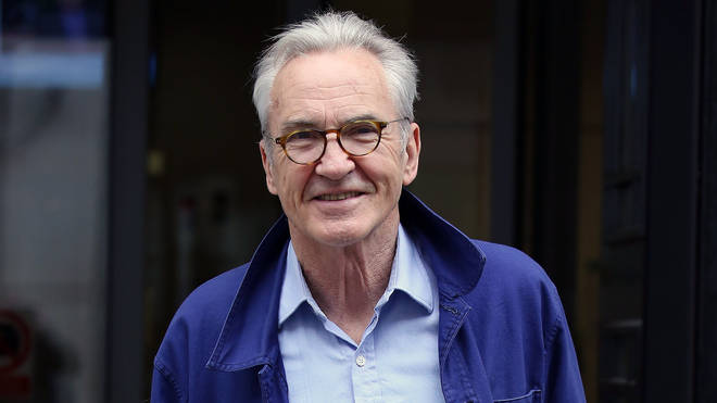 Gavin and Stacey actor Larry Lamb London Celebrity Sightings