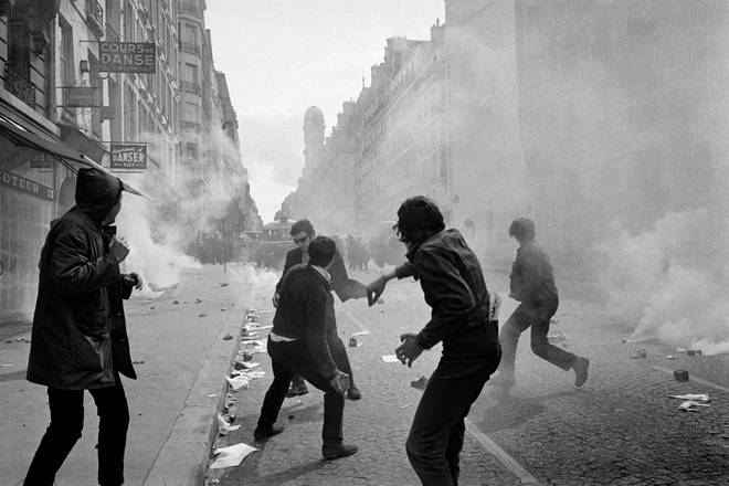 Riots in Paris, May 1968