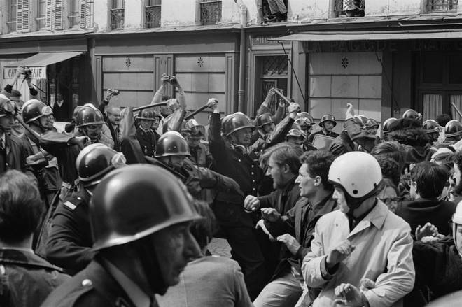 May 1968 Riots in Paris