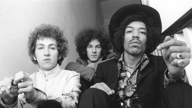 The Jimi Hendrix Experience's Noel Redding and Jimi Hendrix in 1967