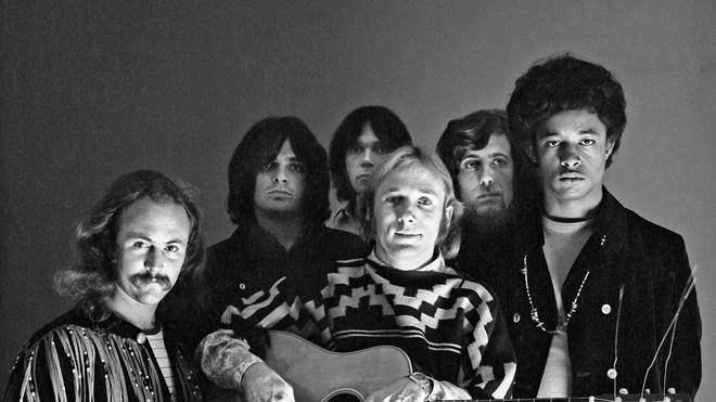 Portrait of Crosby, Stills, Nash & Young in 1972
