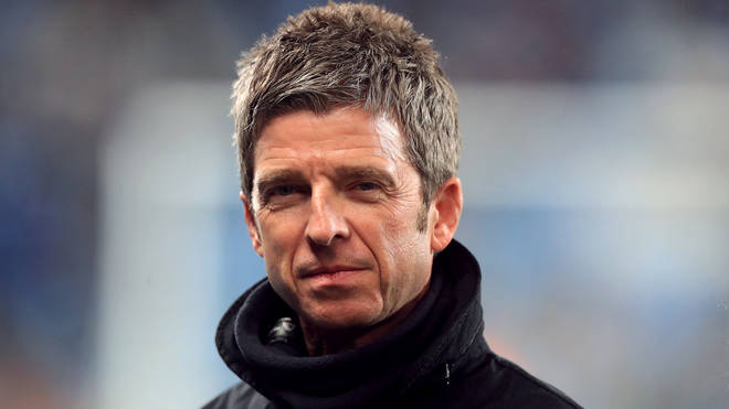 Noel Gallagher before the Premier League match at the Etihad Stadium, Manchester, December 2019