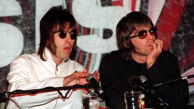 Liam and Noel Gallagher in 1999