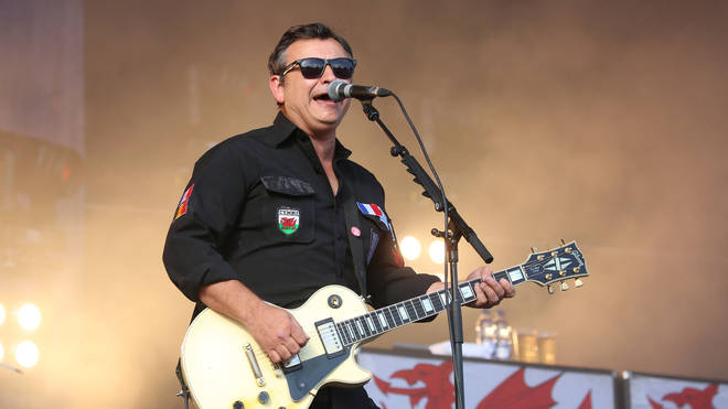 Manic Street Preachers performing live in 2018