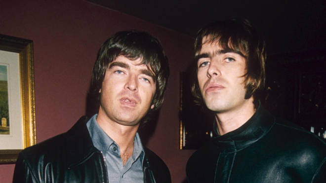 Noel and Liam Gallagher in 1998