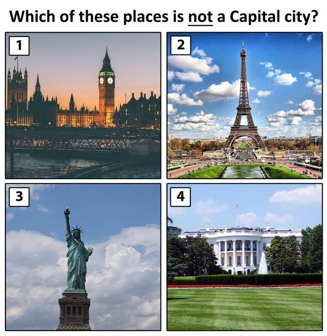 Which is NOT a capital city?
