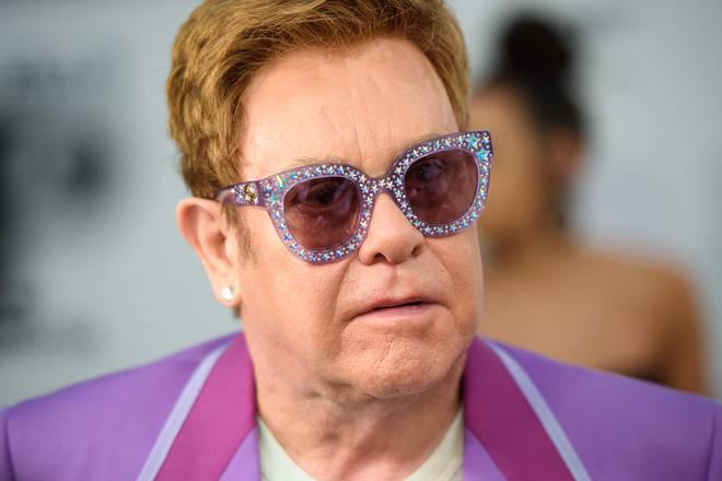 Elton John in July 2019