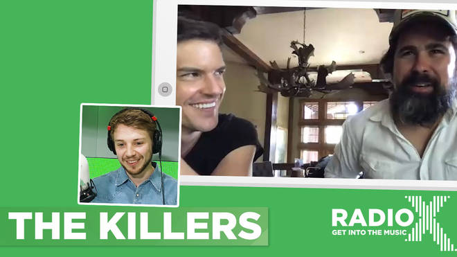 The Killers Brandon Flowers and Ronnie Vannucci Jr. speak to Radio X's George Godfrey
