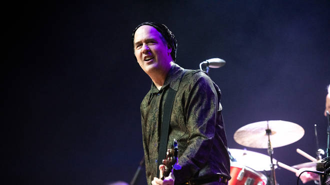 Former Nirvana frontman Krist Novoselic performs at a Homeward Bound: A Benefit For The Homeless Community