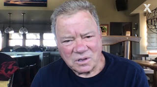 William Shatner gives a special Captain's Log for Radio X