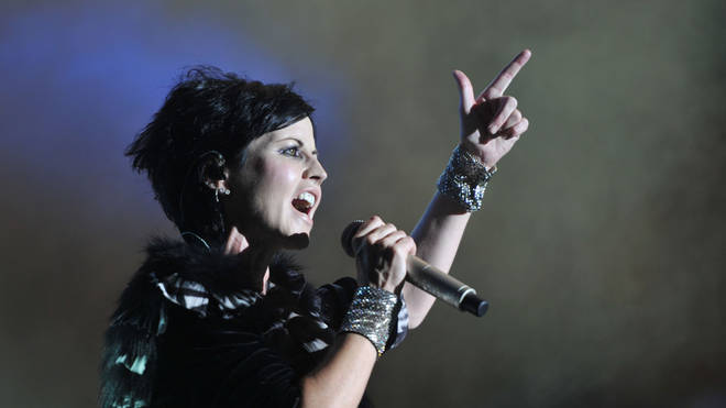 Dolores O'Riordan of the Irish band The Cranberries
