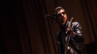 Arctic Monkeys' Alex Turner at Lollapalooza Buenos Aires 2019