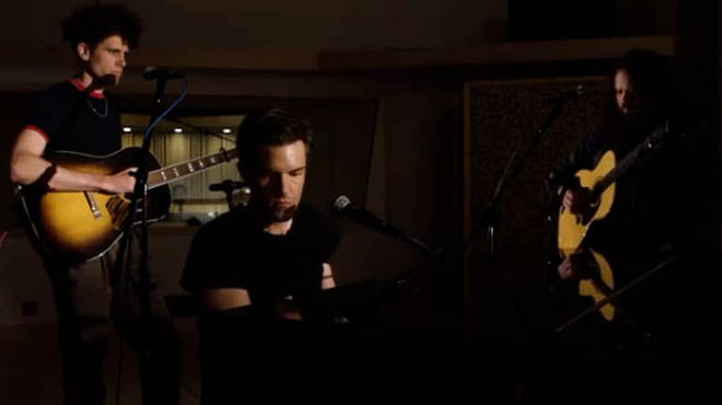 The Killers' Brandon Flowers performs Land of The Free video