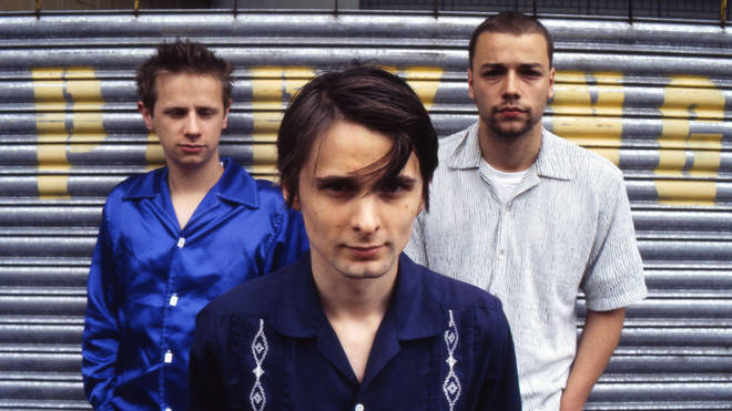 Muse in 1999: Dom Howard, Matt Bellamy and Chris Wolstenholme
