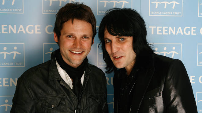 Gordon Smart and Noel Fielding at the Teenage Cancer Trust shows in 2009