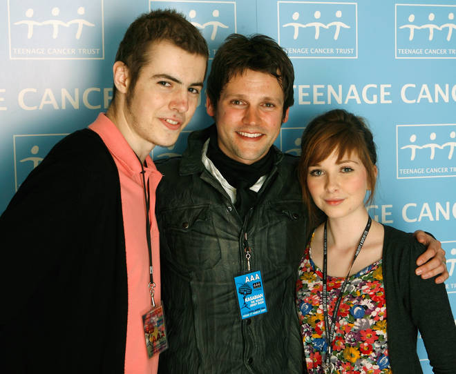 Gordon with special guests Jack Chester and Lucy Rich at the TCT shows in 2009