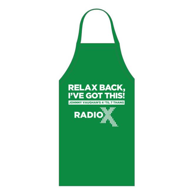 Johnny Vaughan 4 Til 7 Thang apron