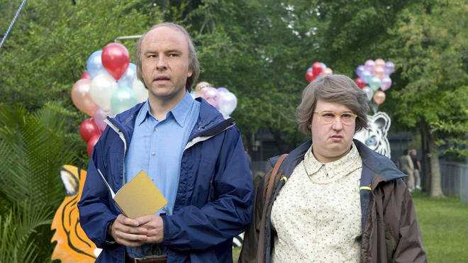 David Walliams and Matt Lucas in Little Britain