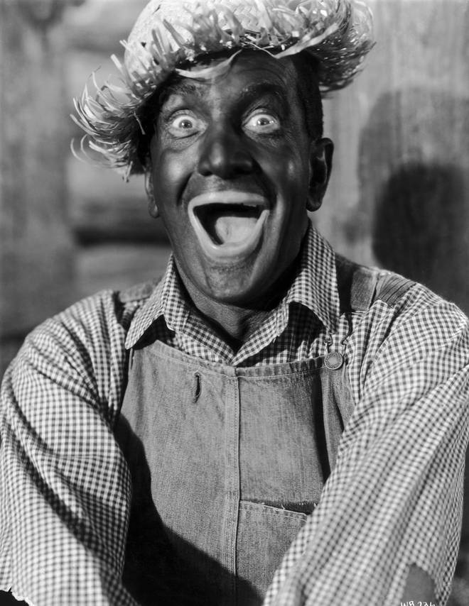 Al Jolson performing in blackface in The Jazz Singer Film Going To Heaven On A Mule