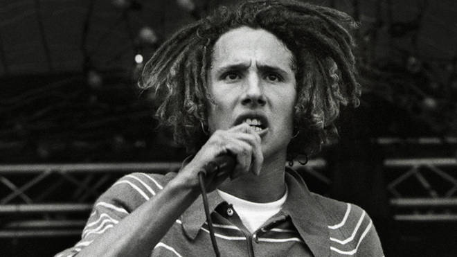 Zack De La Rocha performs with Rage Against The Machine in May 1993