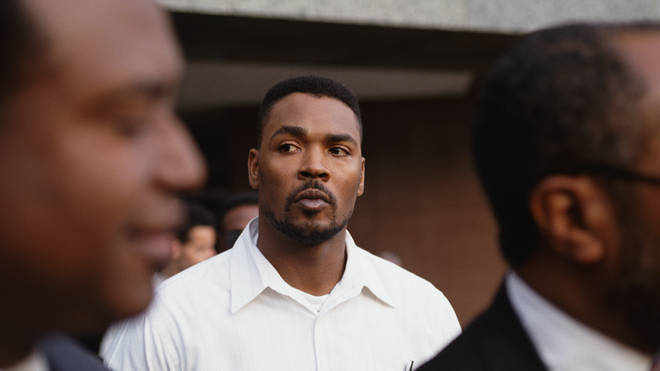 Rodney King after the acquittal of the four LAPD officers