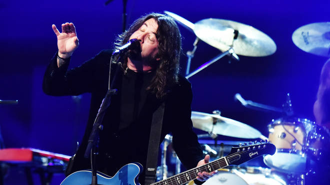 Dave Grohl at the 62nd Annual GRAMMY Awards  Let's Go Crazy The GRAMMY Salute To Prince