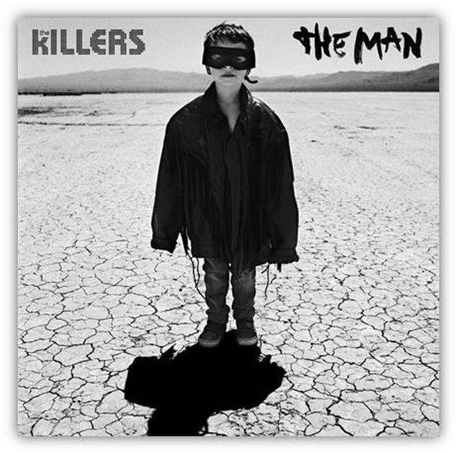 The Killers' artwork for The Man single
