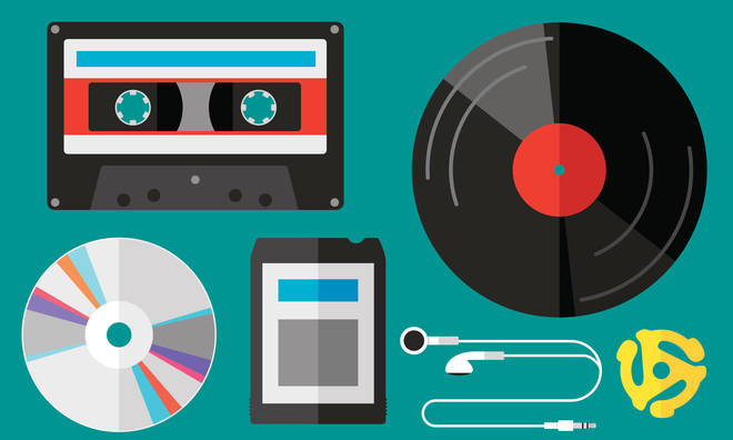 Music formats of yesteryear