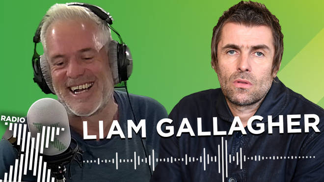Liam Gallagher talks to The Chris Moyles Show