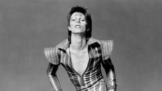 """David Bowie As """"Ziggy Stardust"""" in June 1972"""