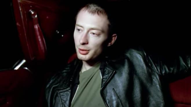 Thom Yorke in Radiohead's Karma Police video