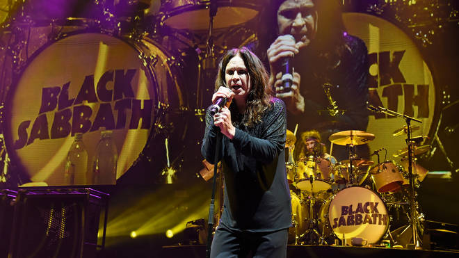 Black Sabbath's Ozzy Osbourne performs onstage on The End Tour in 2016
