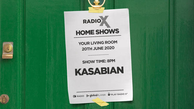 Listen to Kasabian's 2014 Solstice I gig in Radio X's Home Shows