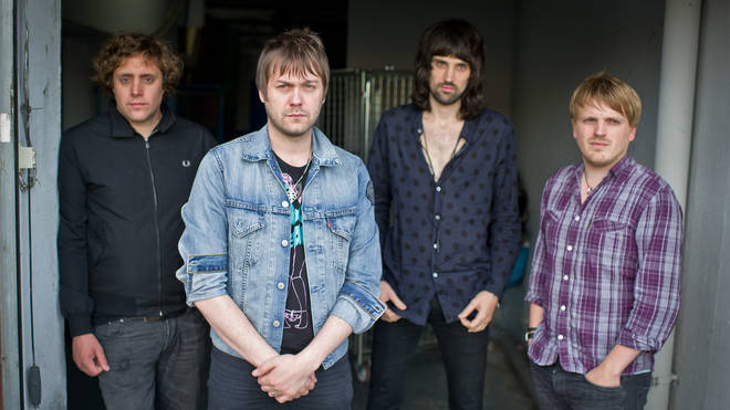 Ian Matthews, Tom Meighan, Sergio Pizzorno and Christopher Edwards  of Kasabian in 2011