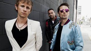 Muse: Dom Howard, Chris Wolstenholme and Matt Bellamy