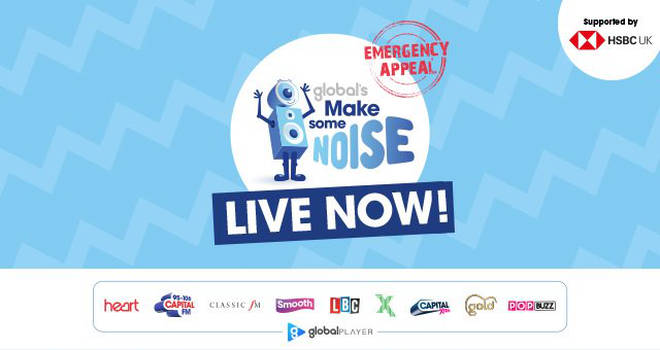Global's Make Some Noise - LIVE NOW!