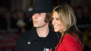 Liam Gallagher and Nicole Appleton in 2012