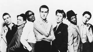 The Specials in 1978: Jerry Dammers, Horace Panter, Neville Staple, Terry Hall, Roddy Byers, Lynval Golding and John Bradbury