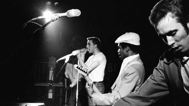 "The Specials on their ""seaside tour"" of 1980"