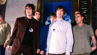 Oasis at the 1996 MTV Video Music Awards