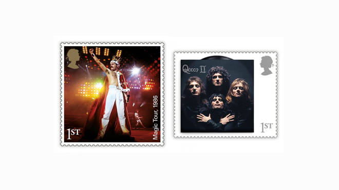 Two of the new Queen stamps from the Royal Mail
